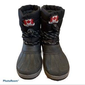 Pajar Boys Black Winter Boots